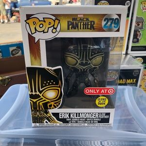 NIB - Funko POP black panther Erik Killmonger